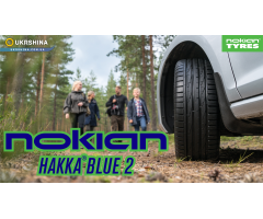 Nokian Hakka Blue 2 летние шины. Повелительница дождя. Обзор Hakka Blue 2