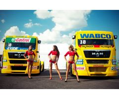 Goodyear принимает участие в гонках на грузовиках