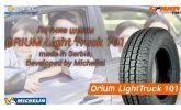 Летние шины Orium Light Truck 101 (Сербия). 3-я линии шин от Michelin. Обзор от УкрШина.