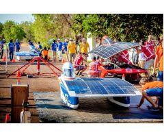 World Solar Challenge спонсируется  Bridgestone
