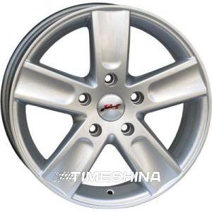 Литые диски RS Wheels 5156TL silver W6.5 R16 PCD5x118 ET45 DIA71.6