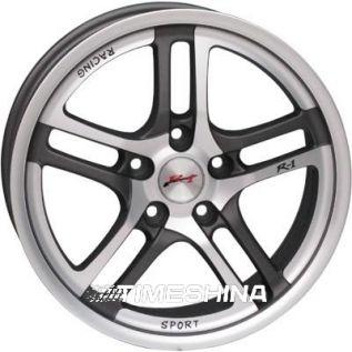 Литые диски RS Wheels 584J DGM W7 R16 PCD5x100 ET43 DIA67.1