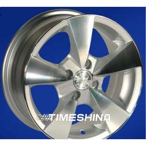 Литые диски ZW 213 W5.5 R13 PCD4x100 ET25 DIA73.1 SP