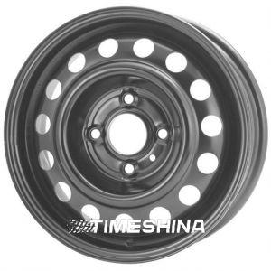 Стальные диски Кременчуг К216 (Dacia) W5.5 R14 PCD4x100 ET43 DIA60.1 черный