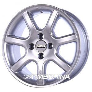 Литые диски CMS 142 W7.5 R15 PCD5x120 ET11 DIA74.1 silver
