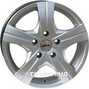 Литые диски RS Wheels 712 silver W6.5 R16 PCD5x130 ET50 DIA84.1