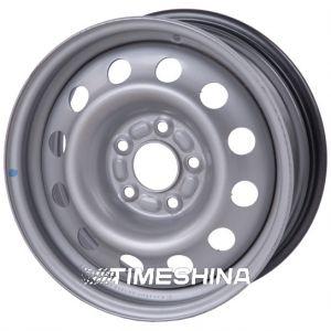 Стальные диски Евродиск 64L35F W6 R15 PCD5x110 ET35 DIA65.1 silver