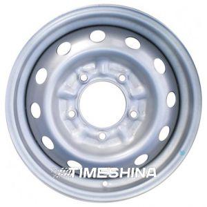 Стальные диски Евродиск 64G35L W6 R15 PCD5x139.7 ET35 DIA98.6 silver