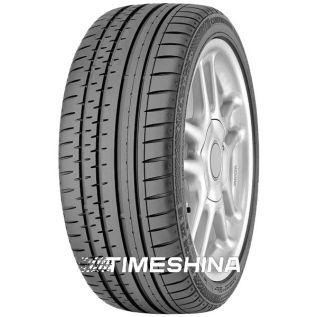 Летние шины Continental ContiSportContact 2 235/55 ZR17 99W M0 по цене 3680 грн - Timeshina.com.ua