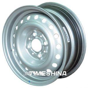 Стальные диски Евродиск 64D35K W6 R15 PCD5x108 ET35 DIA58.1 silver