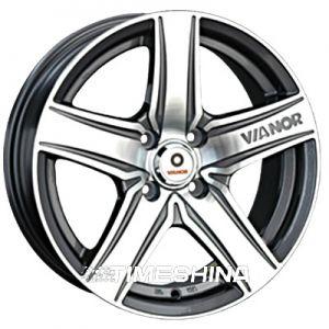 Литые диски Vianor (VR21) W7 R16 PCD5x114.3 ET45 DIA73.1 GMF