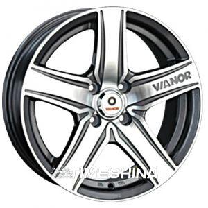 Литые диски Vianor (VR21) W6.5 R15 PCD4x100 ET40 DIA73.1 GMF