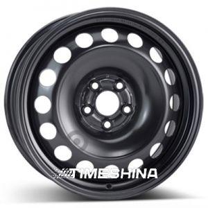 Стальные диски ALST (KFZ) 9680 Volkswagen W6.5 R16 PCD5x100 ET42 DIA57.1 black