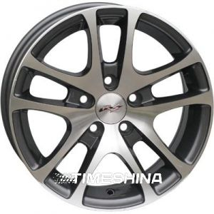 Литые диски RS Wheels 244 W6 R14 PCD5x100 ET35 DIA57.1 MG