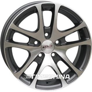 Литые диски RS Wheels 244 MG W6 R14 PCD5x100 ET35 DIA57.1