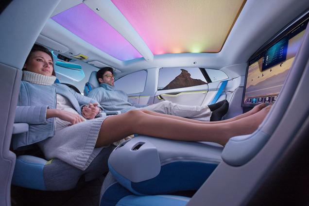 2036 год. Шины и автомобили, какими они будут? Заглянем в будущее. автопилотирование