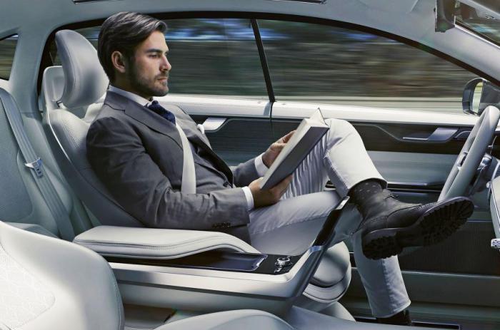 2036 год. Шины и автомобили автопилотирование